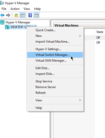 HyperV-OpenSwitchManager